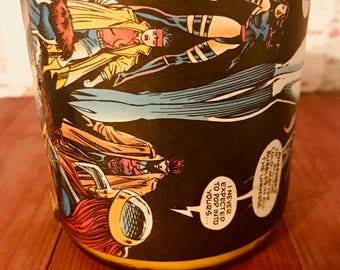 1993 Vintage Comics ( Marvel Comics)  Hand-Poured Soy Wax Candle