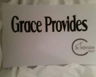 Grace Provides -Inspirational Quote