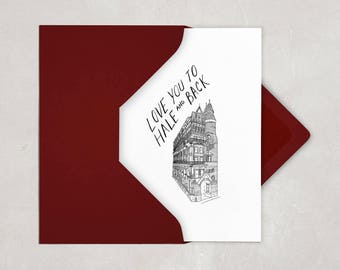 Hale Building Valentine's Card