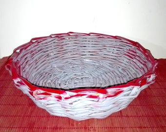 Hand Woven basket-Handvowen Artisan Basket