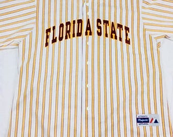 Vintage Majestic Florida State 2XL Baseball Jersey Made in USA
