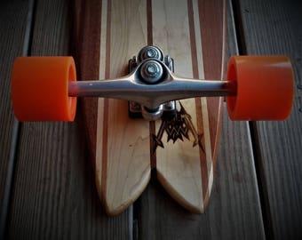 Alchemy wwx #4 Fish Longboard hardwood skateboard