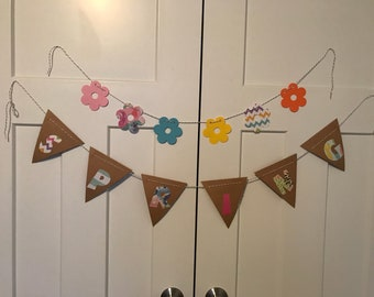 Spring and flower banner