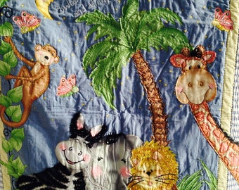 Fun baby Quilt or Wall hanging
