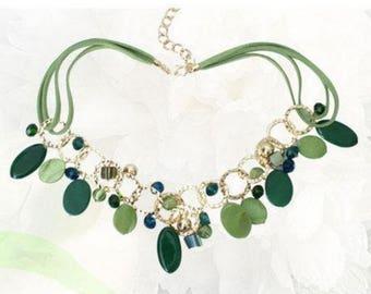 Green Gem Necklace