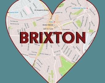 Love Brixton Mini Print
