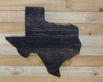 The lone Star State, Texas state cutout Wall Decor