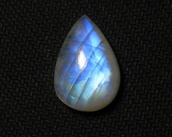 Rare !AAA Rainbow Moonstone Gemstone Top Quality handmade Cabochons 100%Natural Beautiful Rainbow Moonstone Loose stone 29.65cts.(25x17x8)mm