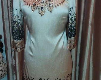 100 % Silk Dress. Size 8