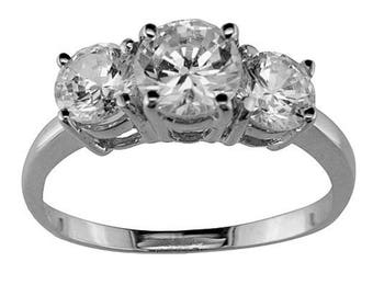 BestOfBijoux® Shanika - Women Ring - Promise Ring - Cubic Zirconia