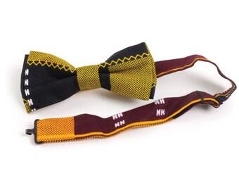 Blue Kente Bow-Tie