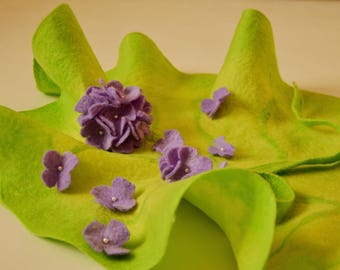 "Kit for newborn photo shoot "" Hydrangea Tenderness"""