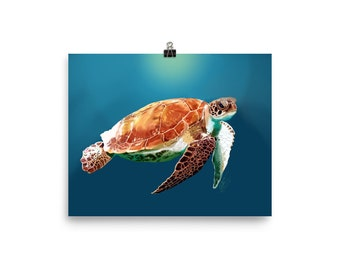 Sea Turtle in Peace