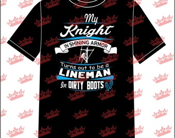 My Knight In Shining Armor T-shirt