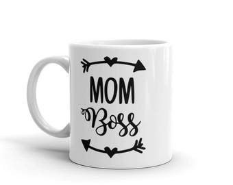 Mom Boss Coffee Cup/Mug