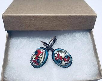 Authentic Handpainted Earrings