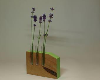 001 Colorcontour-Series mini vase with test tube