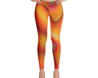Liquid Design Multicolor Leggings