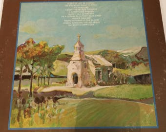Chuck Wagon Gang Oh What A Happy Day Classic Gospel Vinyl Record Album Lp
