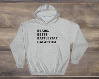 The Office TV Show Shirt, Bears Beets Battlestar Galactica Hoodie, Michael Scott, Dwight Schrute, Dwight You Ignorant Slut, Dunder Mifflin