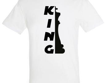 Pair of King/Queen jerseys-Valentine's Day-Christmas-birthday-gift ideas-bride and groom-chess-game