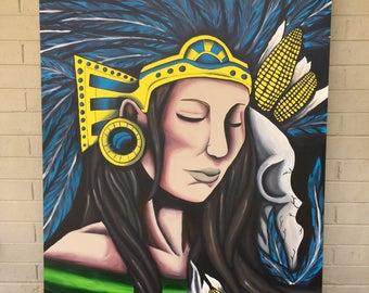 Aztec She Warrior