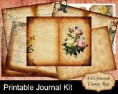 3-2-1 Printable Gratitude & Creativity Tracking Journal Kit, Gratitude Journal, Creativity Tracking Journal