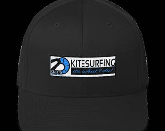 Structured Twill Cap- Kitesurfing, its what I do