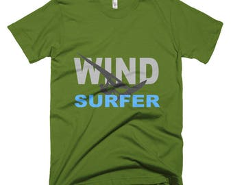 Windsurfer-high quality T shirt from American Apparel