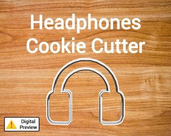 "4"" Headphones Cookie Cutter (Object Set)"
