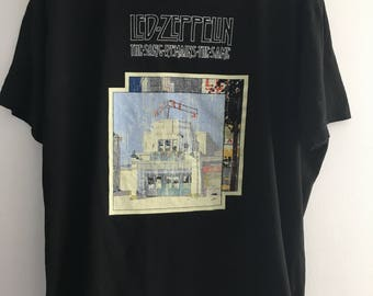 vintage Led Zeppelin tee shirt
