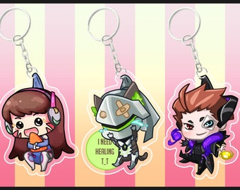 Overwatch gremlin charms
