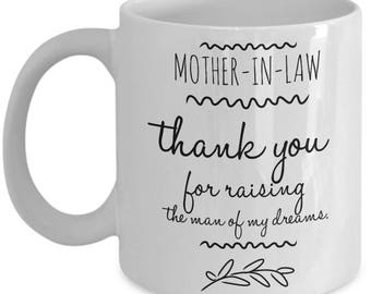 Funny Mother In Law Gift - Mother-In-Law Gifts - Mother of the Groom Gift - Husband's Mother - Coffee Mug Tea Cup 11oz 15oz