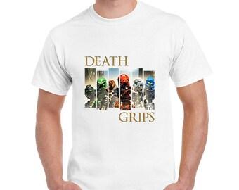 Death Grips T-Shirt, Death Grips - Bionicle Toa Mata Shirt