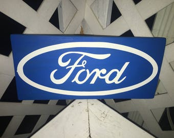 Custom Automotive Logo Sign, 5x12in.
