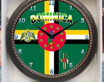 Dominica Clock Decor wall Clock