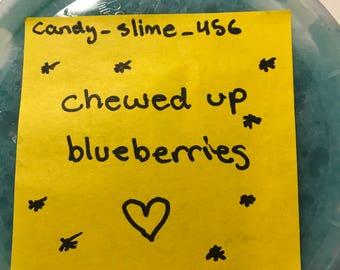 Chewed Up Blueberries 8oz