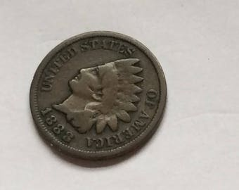 1888 Indian Head Penny / cent #2