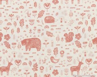 Cottonvill Fabric - Woodland Friends