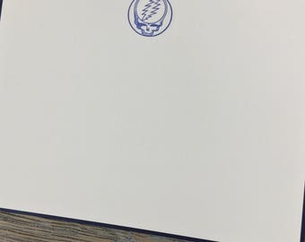 Grateful Dead Steal Your Face Stationery