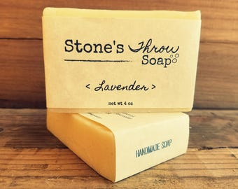 Lavender Handmade Bar Soap