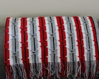 crochet navajo pattern afghan