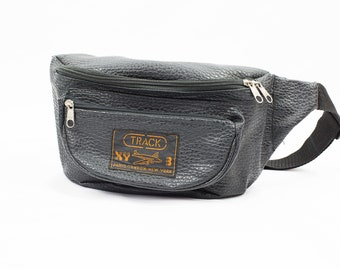 Vintage 90s Leather Fanny Pack