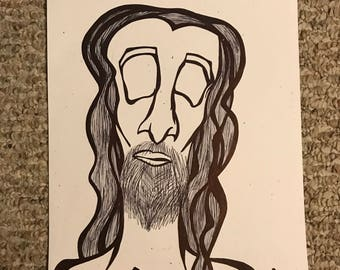 Homeless - original cardstock