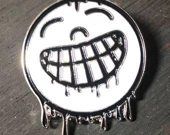 Smile for Camera Drip Logo lapel pin/hat pin