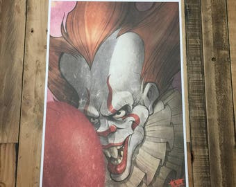 IT pennywise print