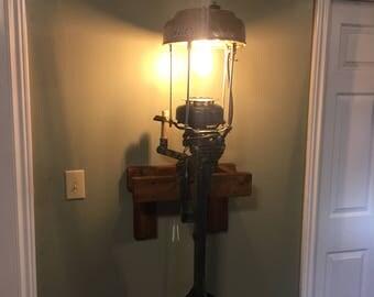 Boat motor lamp