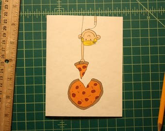 Pizza Heart Card