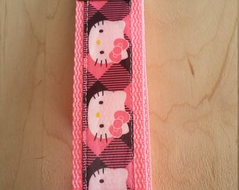 Wristlet Key Fob - Hello Kitty
