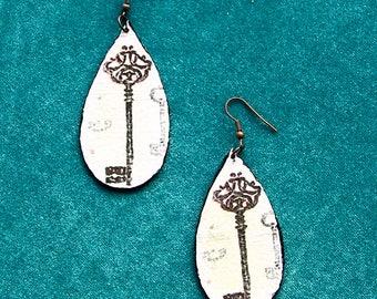 Double face earrings